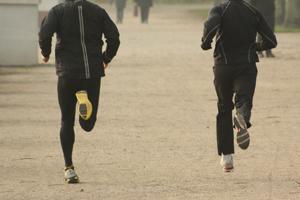 Tempotraining beim Laufen; Bildquelle: Marco Heibel